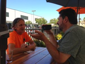 Jeff Baker interviews Kurt Dale of Dale Bros. Brewery in Upland.