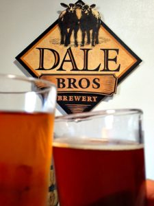 Dale Bros. flagship beer is their Pomona Queen a California Amber Lager