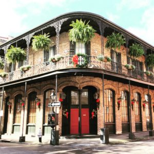 Typical building in the French Quarter
