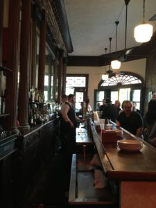 The bar at Muriel's