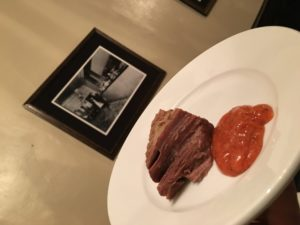 Boiled Beef and Horseradish Sauce
