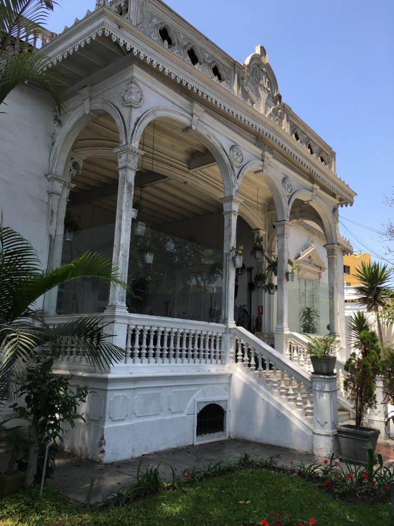 Old Colonial Buildings of Barranco, Lima