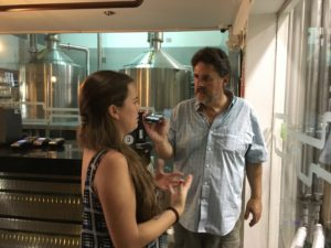 Sara Lefevre gives Jeff a tour