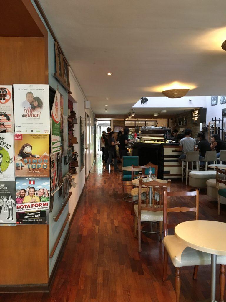 Inside Cafe Bisetti