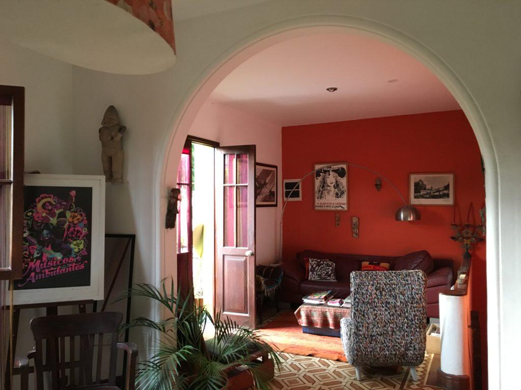 Inside Casa Nuestra
