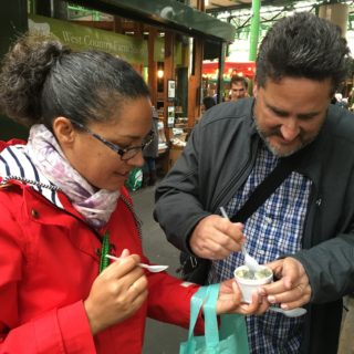 Radio: London's Borough Market Food Tour